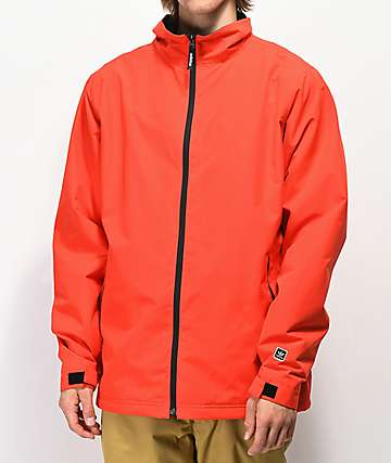 adidas Civillian 5K chaqueta de snowboard roja y negra