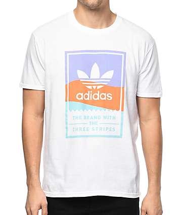 adidas Classic White T-Shirt