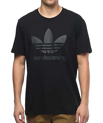 adidas Clima 3.0 All Black T-Shirt