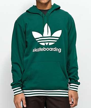 adidas Clima 3.0 Uniform Green Hoodie