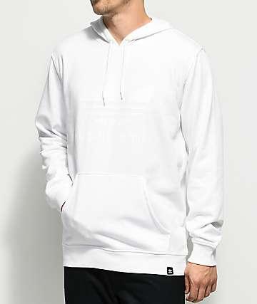 adidas Clima 3.0 White Hoodie