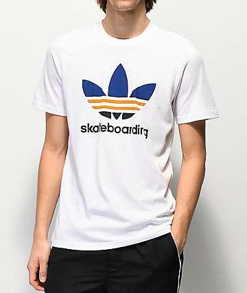 adidas Clima 3.0 White T-Shirt