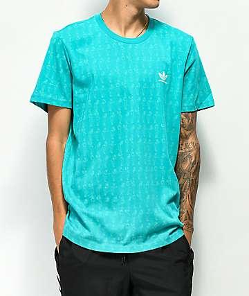 adidas Clima Dancer camiseta verde