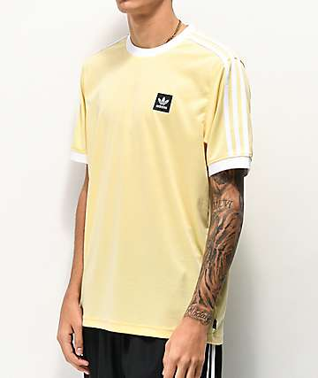 adidas Club Yellow & White Jersey