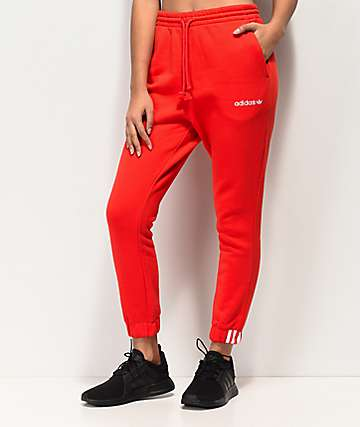 adidas Coeeze Red Jogger Sweatpants