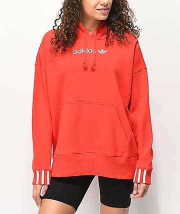 adidas Coeeze Scarlet Red Hoodie