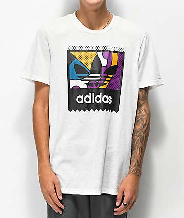 adidas Cogo Logo Tribe camiseta blanca