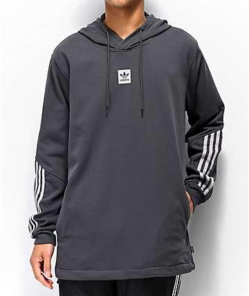 adidas Cornered Grey Reflective Hoodie