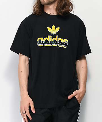 adidas Crafty Logo Black T-Shirt