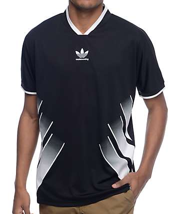 adidas EQT Black Soccer Jersey