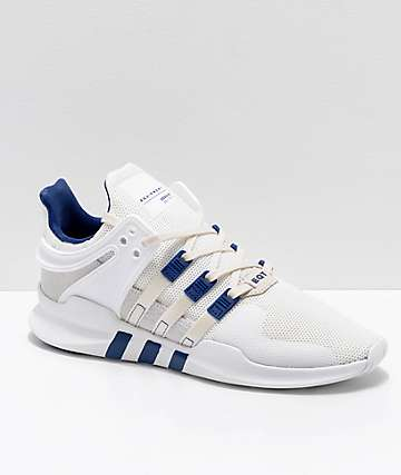 adidas EQT Support ADV Cream & White Shoes