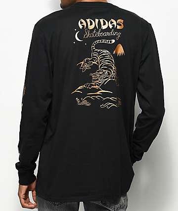 adidas Eastern Black Long Sleeve T-Shirt