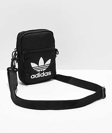 adidas Festival Trefoil Black Shoulder Bag