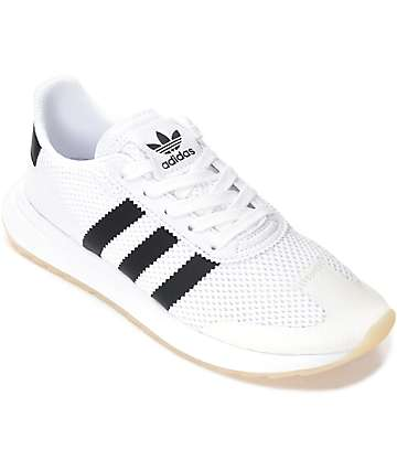 adidas Flashback Black & White Shoes