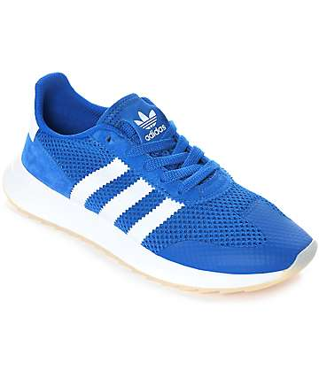 adidas Flashback Blue & White Womens Shoes