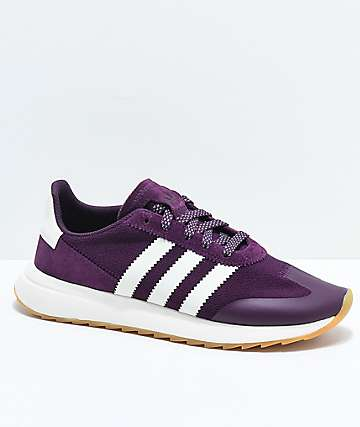 adidas Flashback Red Night zapatos en rojo oscuro y blanco