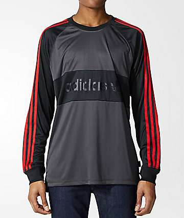adidas Goalie Black Jersey Shirt
