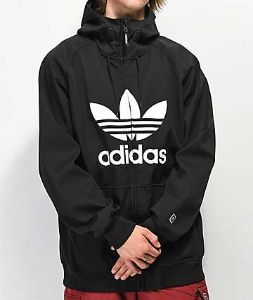 adidas Greeley Black 10K Softshell Jacket