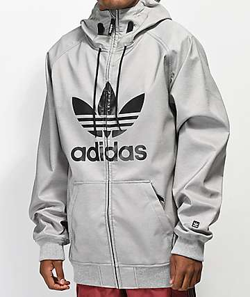 adidas Greely Grey Softshell Jacket