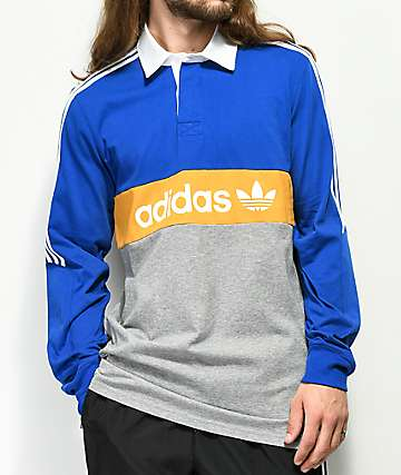 adidas Heritage Colorblocked Polo