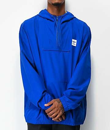 adidas Hip Royal Blue Anorak Jacket