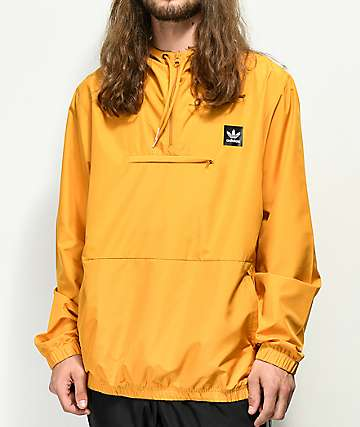 adidas Hip Yellow Anorak Jacket