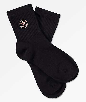 adidas Icon Patch Black Ankle Socks