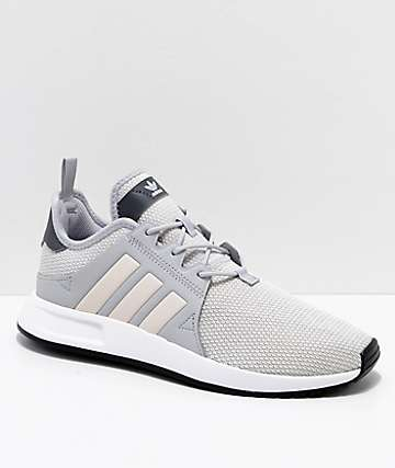 adidas Kids Xplorer Grey & Pink Shoes