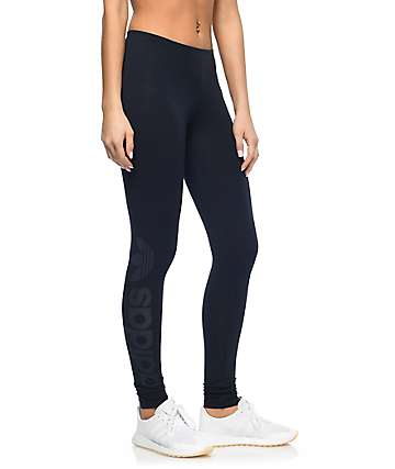 adidas Linear Logo Ink Navy Leggings