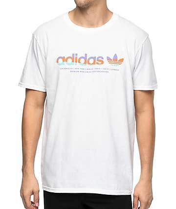 adidas Linear White T-Shirt