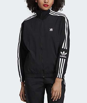 adidas Lock Up Black Track Jacket