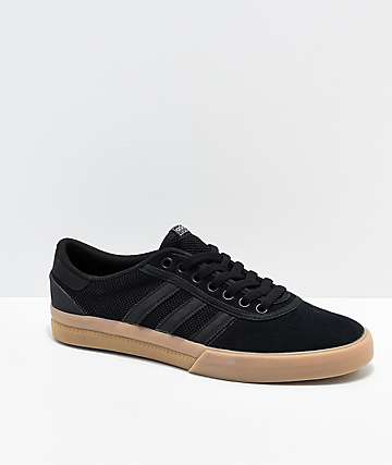 adidas Lucas Premiere ADV Black, White & Gum Shoes