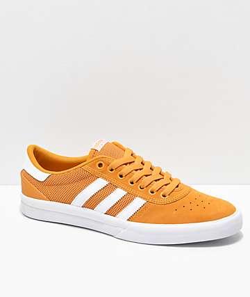 adidas Lucas Premiere ADV Tactile zapatos amarillos y blancos