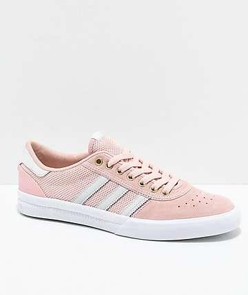adidas Lucas Premiere zapatos en rosa y blanco