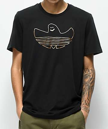 adidas Metallic Shmoo Black T-Shirt