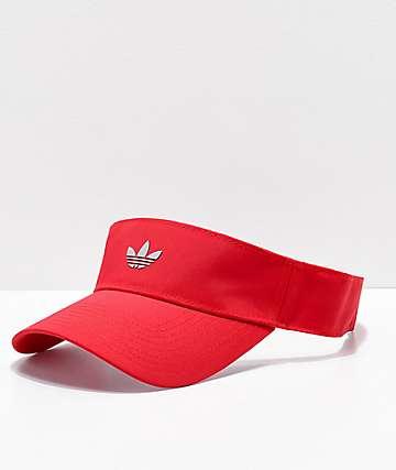 adidas Modern II Reflective Scarlet Red Visor