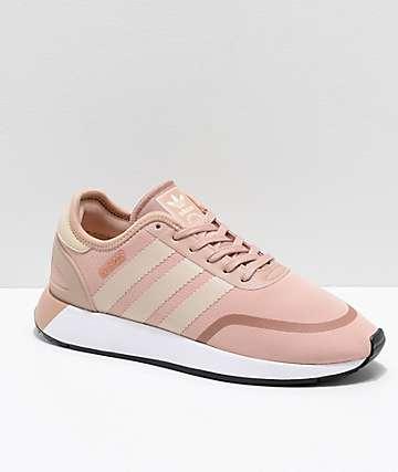 adidas N-5923 CLS Ash Pearl zapatos en rosa polvoriento