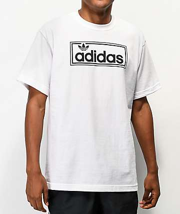 adidas New Icon Logo White T-Shirt