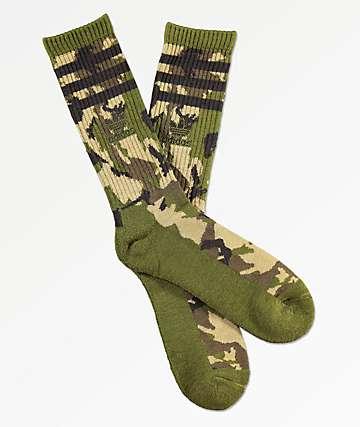 adidas Original Roller Camo II Crew Socks