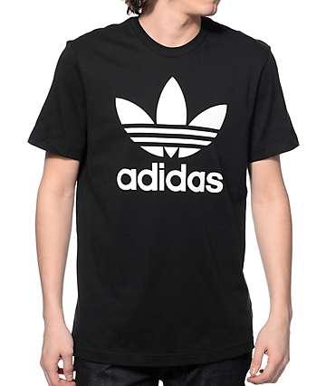 adidas Original Trefoil camiseta negra