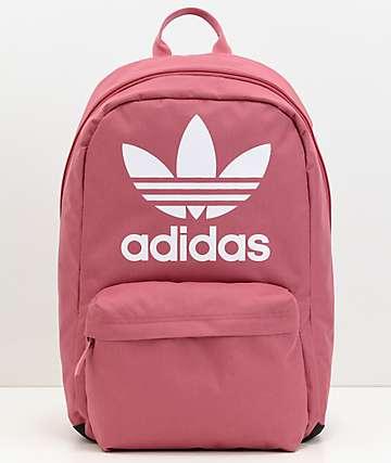 adidas Originals Big Logo Dark Pink Backpack