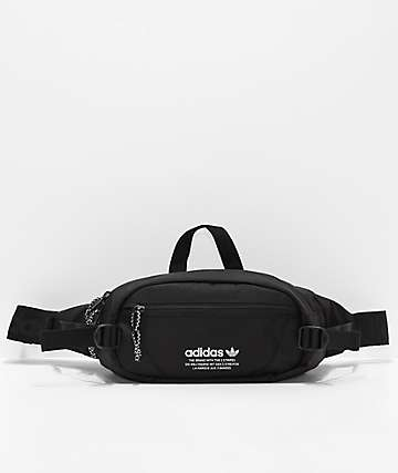 adidas Originals Black & White Crossbody Bag