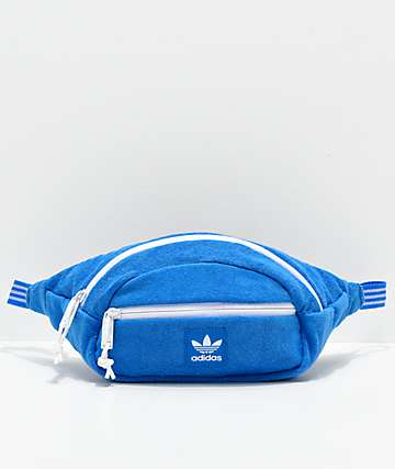 adidas Originals Blue French Terry Fanny Pack