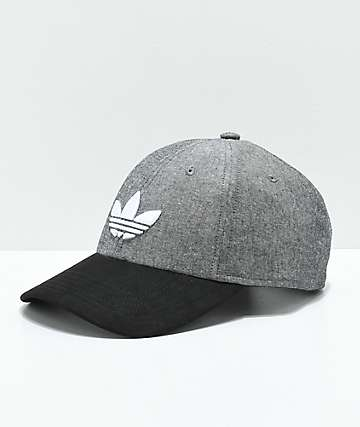 adidas Originals Grey & Black Snapback Hat