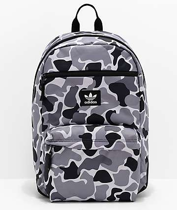adidas Originals National Grey   Black Camo Backpack 476733e92d730