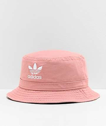 adidas Originals Pink Washed Bucket Hat