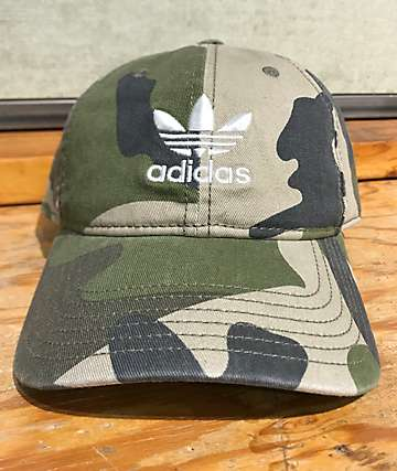 adidas Originals Relaxed Camo Strapback Hat