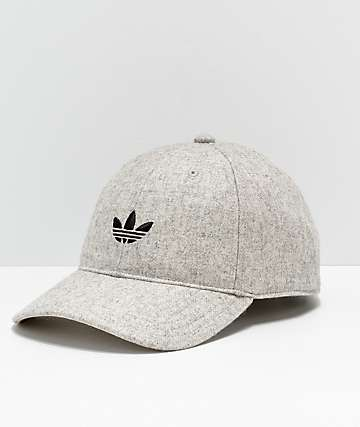 adidas Originals Relaxed Wool Heather Strapback Hat