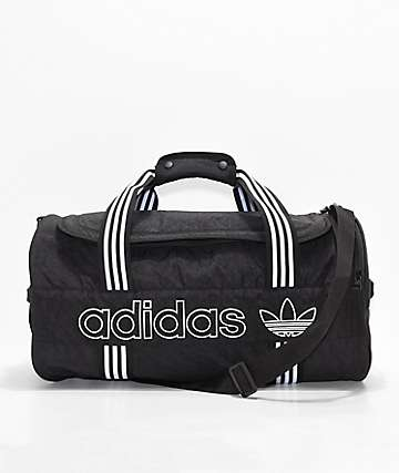 adidas Originals Spirit Roll Black Duffel Bag