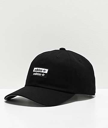 adidas Originals Stacked Black Strapback Hat